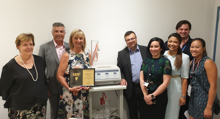 Wilkins Family Foundation funds purchase of new neurosurgical equipment for Women's & Children's Hospital