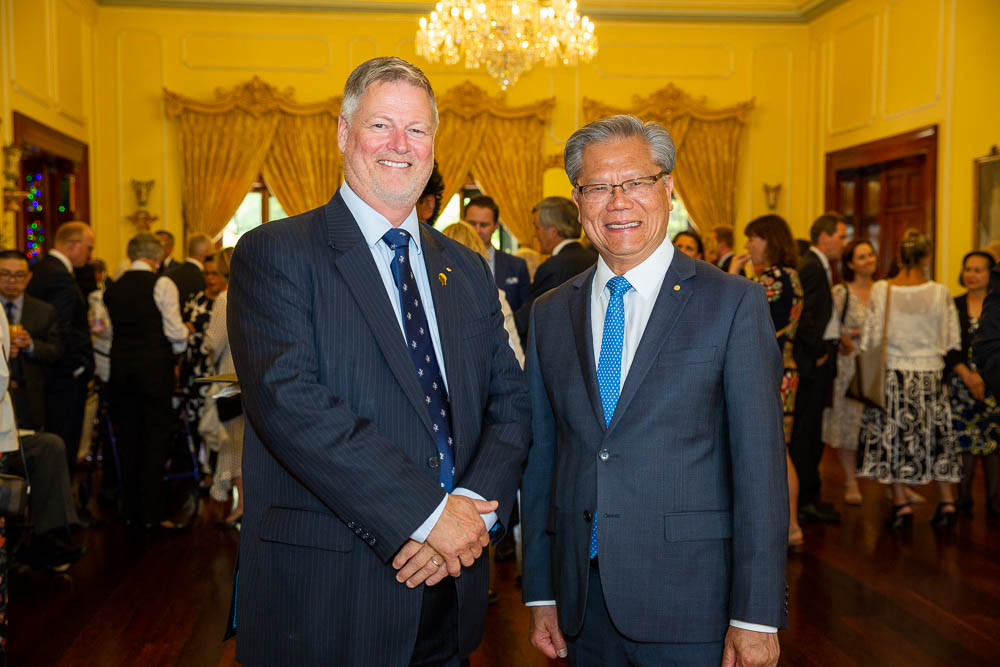NRF supporters thanked at Government House image